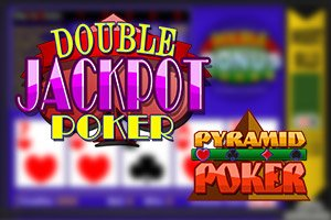 Pyramid Double Jackpot Poker